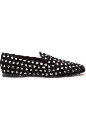 Dolce & Gabbana Slipper mit Sternnieten