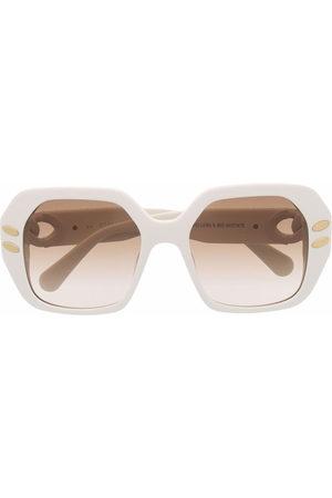 Stella McCartney Eyewear Sonnenbrille mit Oversized-Gestell