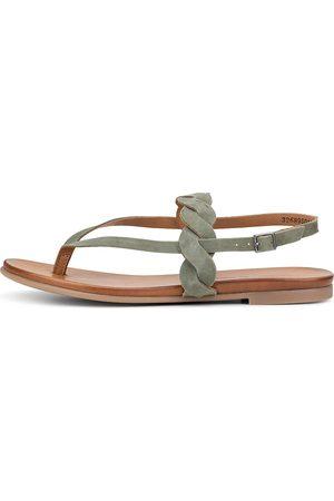 Cox Sandale in khaki, Sandalen für Damen