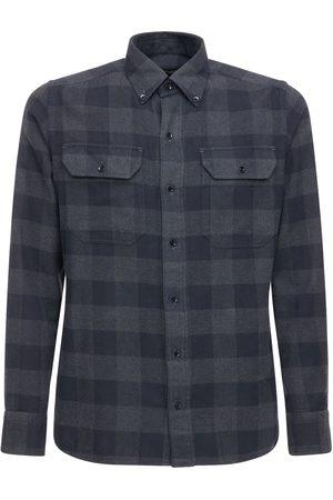 Tom Ford Kariertes Freizeithemd Aus Baumwolle