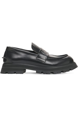 Alexander McQueen Loafers Aus Poliertem Leder