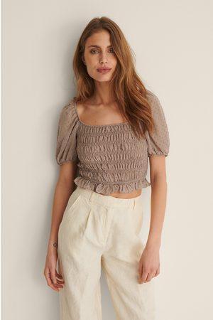 Trendyol Schulterdetail Bluse - Brown