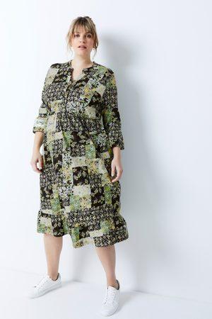 Ulla Popken Damen Freizeitkleider - Bellieva-Kleid, Damen