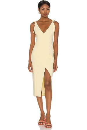 Camila Coelho Aaliyah Midi Dress in . Size XXS, XS, S, M, XL.