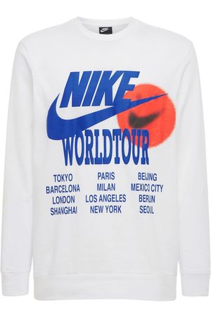"Nike Herren T-Shirts, Polos & Longsleeves - T-shirt Mit Druck ""world Tour"""