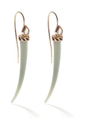 Dezso Damen Ohrringe - Deco Jali Topaz & 18kt Rose- Earrings