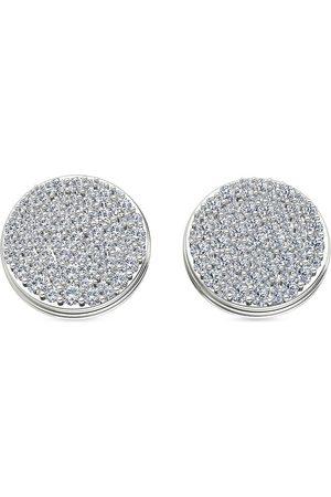 ALINKA Damen Ohrringe - 18kt Weißgoldohrringe mit Diamanten