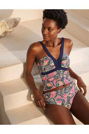 Boden Amalfi Bikinihose zum Umschlagen MLT Damen