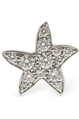 "Dodo Damen Ohrringe - 9 Kt Gold-mono-ohrring Mit Diamanten ""stellina"""