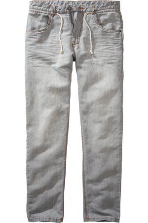Mey & Edlich Herren Cropped - Herren Ibiza-Jeans leicht hellgrau 30/