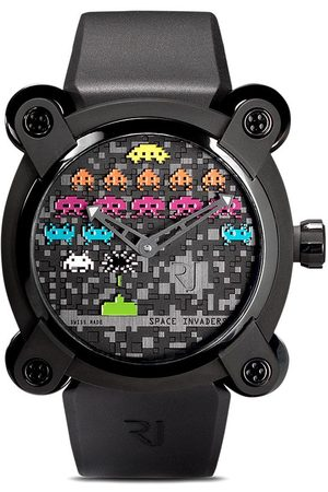 Rj Watches Moon Invader Space Invaders Pop' Armbanduhr, 46mm