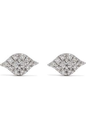 DJULA 18kt Eye Weißgoldohrringe mit Diamanten