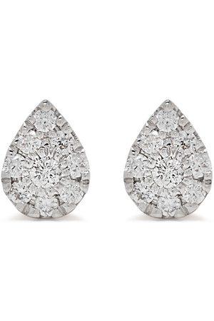 DJULA 18kt Pear Gelbgoldohrringe mit Diamanten
