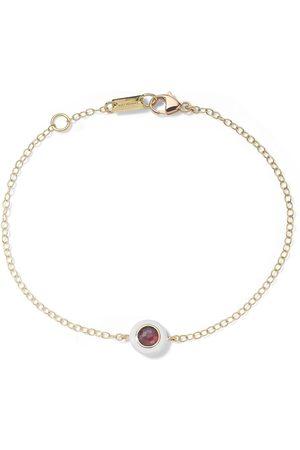 Ippolita Damen Armbänder - 18kt Lollipop Gelbgoldarmband mit Granat