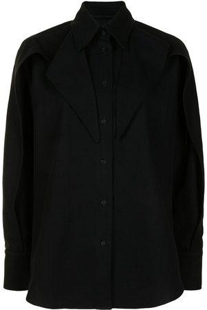 MATICEVSKI Damen Blusen - Hemd mit Volants