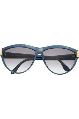 Yves Saint Laurent Sonnenbrillen - 1980s Runde Sonnenbrille mit Farbverlauf