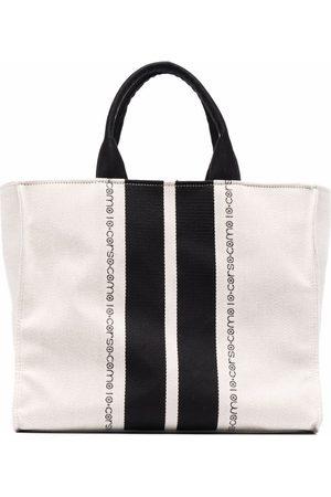 10 CORSO COMO Logo-print tote bag