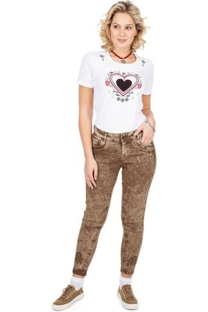 hangOwear Jeanshose lang HENDRINA Classic schlamm