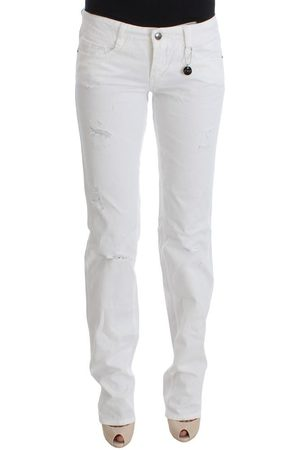 Costume National Slim Fit Denim Bootcut Jeans , Damen, Größe: W27