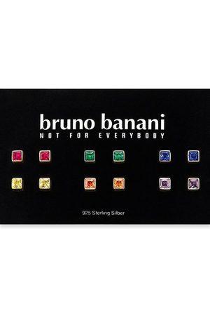 Bruno Banani Damen Uhren - Ohrstecker-Set »B0026S/90/I7/1« (Set, 12-tlg), mit Zirkonia (synth)
