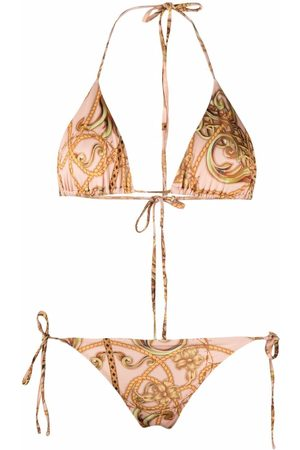 Philipp Plein New Baroque Triangel-Bikini