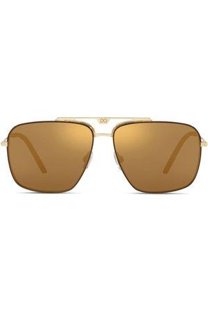 Dolce & Gabbana Getönte Pilotenbrille