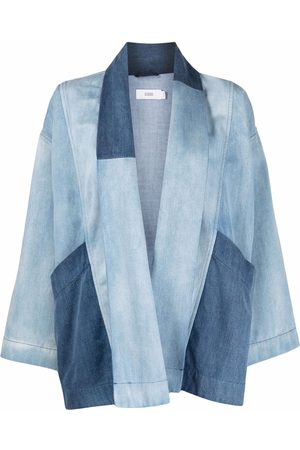 Closed Relaxed denim patchwork jacket