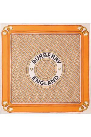 Burberry Schals - Seidenschal mit Montage-Print