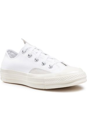 Converse Damen Halbschuhe - Chuck 70 Ox 168673C White/Egret/University Red