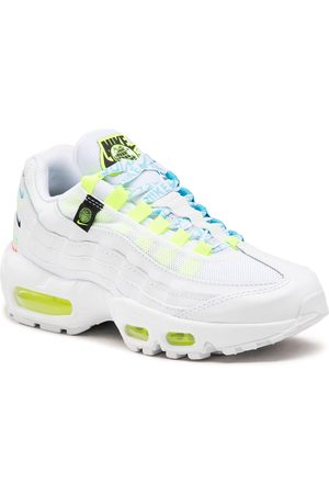 Nike Air Max 95 Se Ww CV9030 100 White/White/Volt/Blue/Fury
