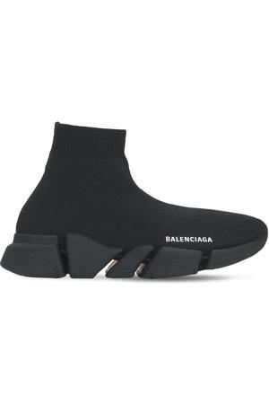 "BALENCIAGA Damen Sneakers - 30mm Hohe Sneakers Aus Strick ""speed 2,0 Lt"""