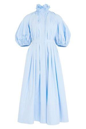 Alexander Mcqueen Damen Midikleider - Kleid mit Puffärmeln