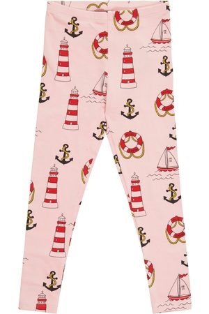 Mini Rodini Leggings Lighthouse aus Baumwolle