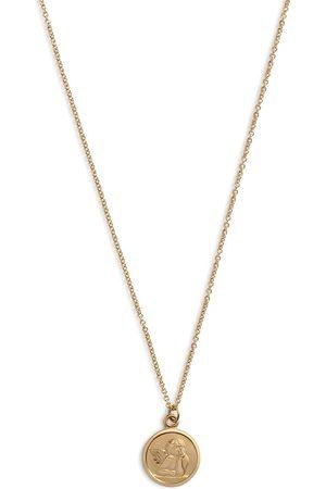Dolce & Gabbana Mädchen Halsketten - Halskette mit Medaillon-Anhänger