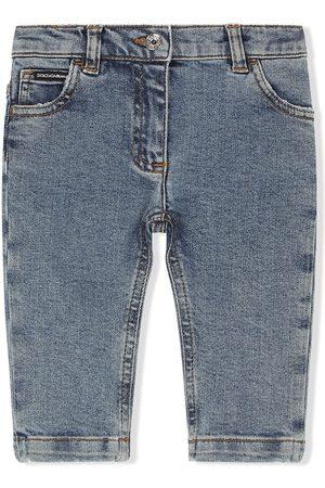 Dolce & Gabbana Jungen Straight - Jeans mit geradem Bein