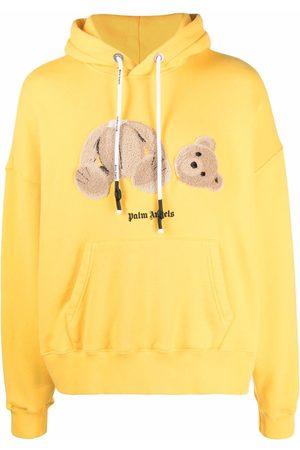 Palm Angels Herren Sweatshirts - Hoodie mit Bären-Stickerei