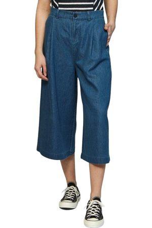 Denham Damen Cropped - Ravine Coulotte ITT Washed Trousers , Damen, Größe: M