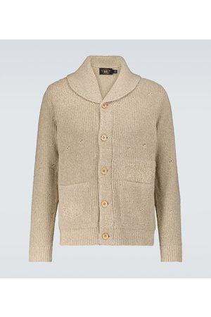 RRL Strickjacken - Cardigan aus Baumwolle und Seide