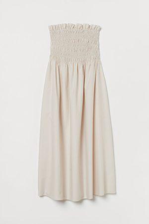 H&M Damen Freizeitkleider - Gesmoktes Kleid