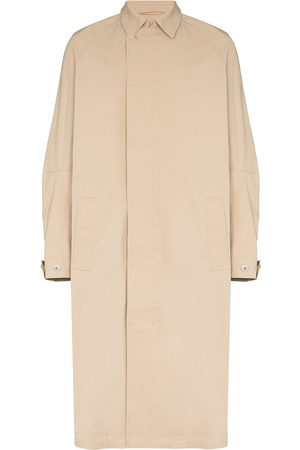 TOM WOOD Button-up trench coat