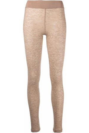 12 STOREEZ Leggings aus Feinstrick