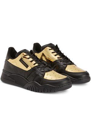 Giuseppe Zanotti Sneakers mit Kontrasteinsätzen