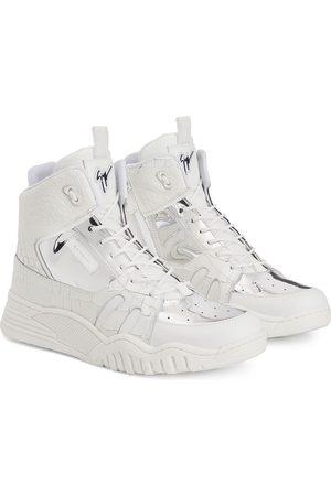 Giuseppe Zanotti Jungen Sneakers - Sneakers mit Logo-Patch