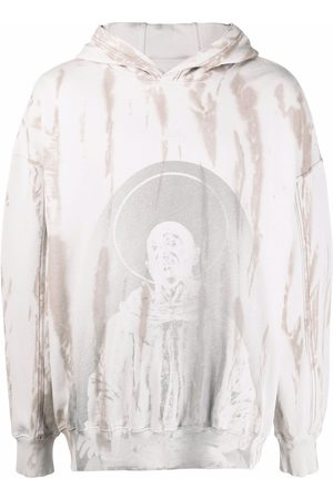 A-cold-wall* Hoodie mit Batikmuster