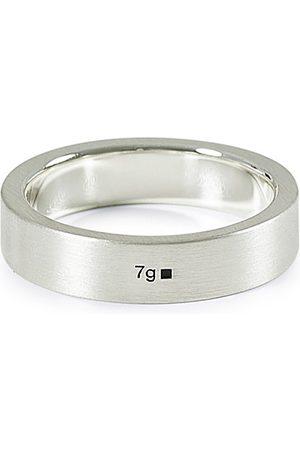 LE GRAMME Herren Ringe - Ribbon Brushed Ring Sterling Silver 7g