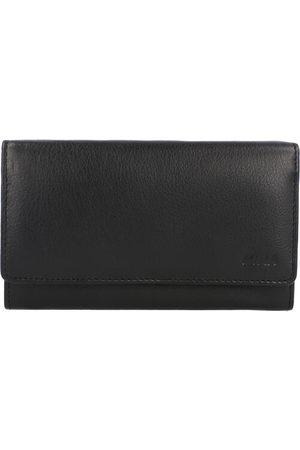 Mika Geldbörse Leder 16,5 cm