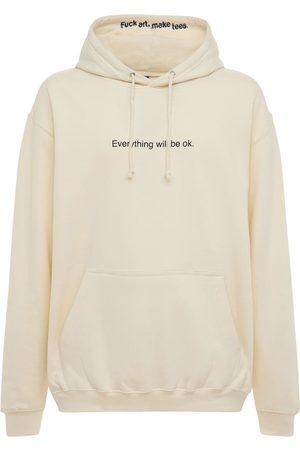 """F.A.M.T. Sweatshirt Aus Baumwolle """"everything Will Be Ok"""""""
