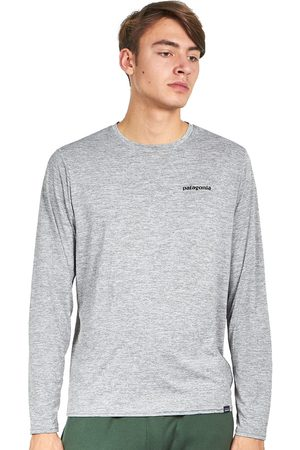 Patagonia Herren Longsleeves - Long-Sleeved Cap Cool Daily Graphic Shirt