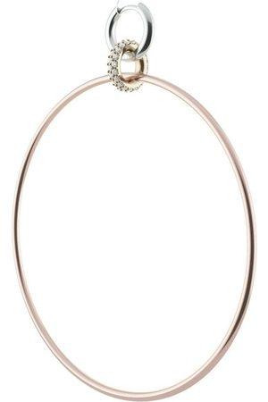 Spinelli Kilcollin 18kt Altaire Goldcreolen mit Diamanten-Pavé