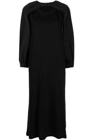 Muller Of Yoshiokubo Rayas Kleid mit Ärmeleinsätzen